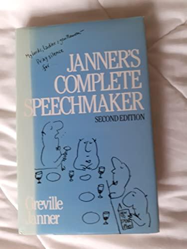 9780091429805: Janner's Complete Speechmaker