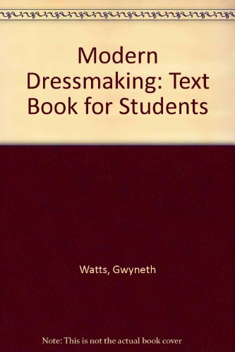 9780091436315: Modern Dressmaking: Text Book for Students