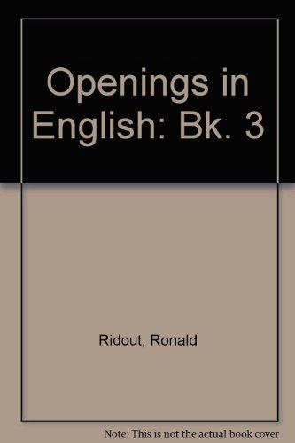 9780091467012: Openings in English: Bk. 3