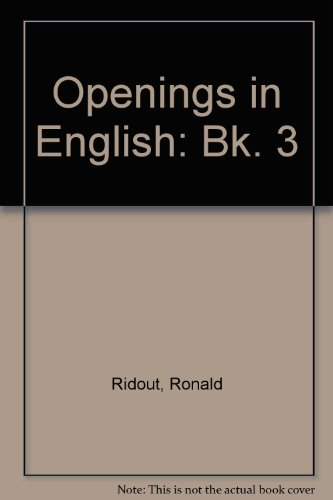 9780091467012: Openings in English: Bk. 3