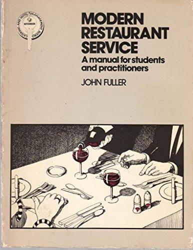 9780091468316: Modern Restaurant Service