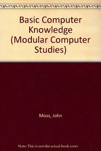 9780091472719: Basic Computer Knowledge (Modular computer studies)