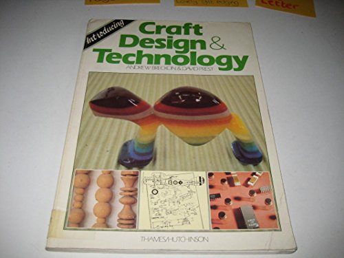 Introducing Craft Design And Technology By Breckon Andrew Prest
