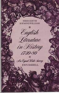 9780091498214: English Literature in History 1730-80: Pastoral and Politics