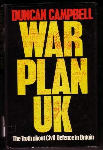 9780091506704: War Plan U.K.
