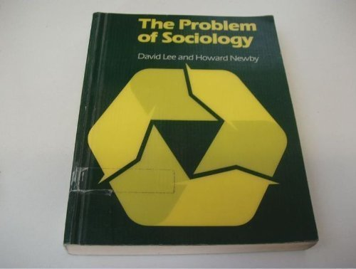 9780091515119: Problem of Sociology: An Introduction to the Discipline