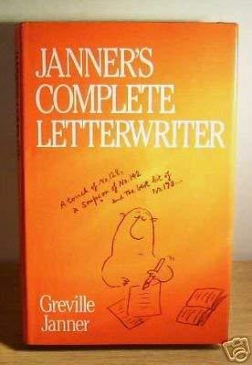 9780091518004: Janner's Complete Letterwriter