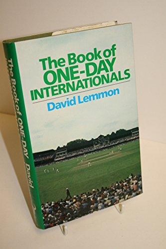 The Book of One Day Internationals: David Lemmon