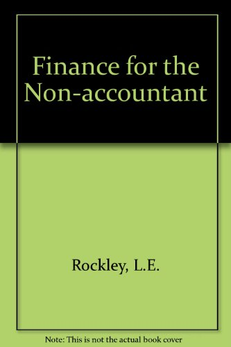 9780091530907: Finance for the Non-accountant