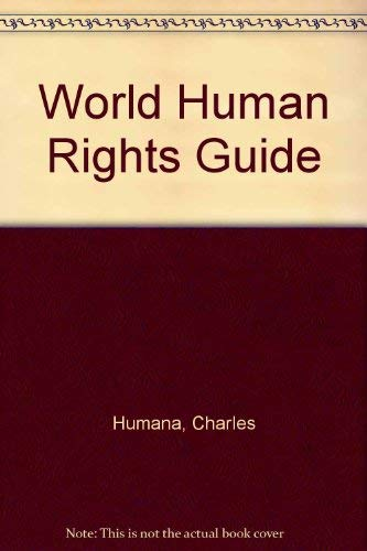 9780091534905: World Human Rights Guide