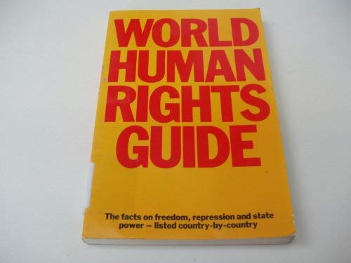 9780091534912: World Human Rights Guide