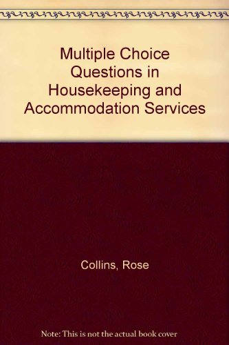 9780091539610: Multiple Choice Questions in Housekeeping and Accommodation Services