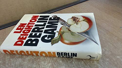 BERLIN GAME.: Deighton, Len.