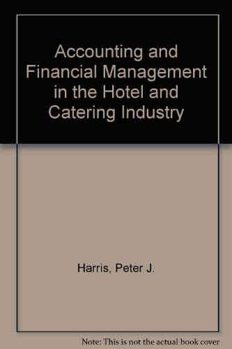 9780091542115: Accounting and Financial Management in the Hotel and Catering Industry