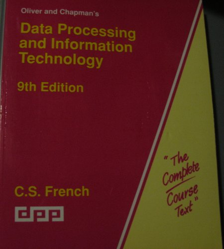 9780091549718: Data Processing Methods (Hutchinson computer studies series)