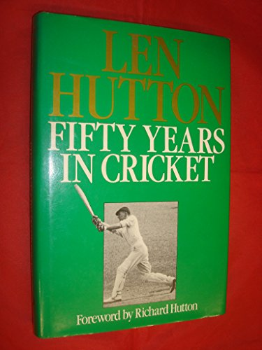 9780091552206: Fifty Years in Cricket