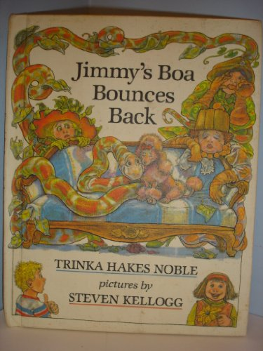 9780091564506: Jimmy's Boa Bounces Back