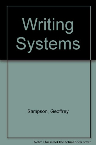 9780091569808: Writing Systems