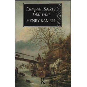 9780091569914: European Society, 1500-1700