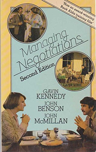 9780091582319: Managing Negotiations