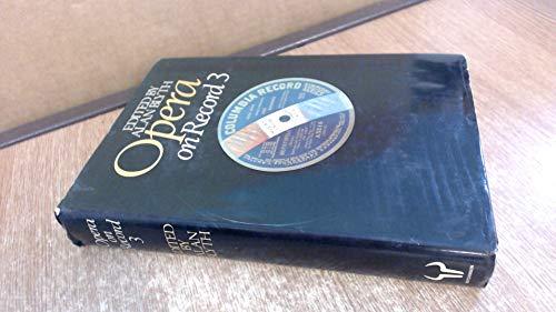 9780091586201: Opera on Record: v. 3