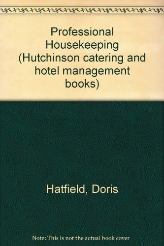 9780091594213: Professional Housekeeping