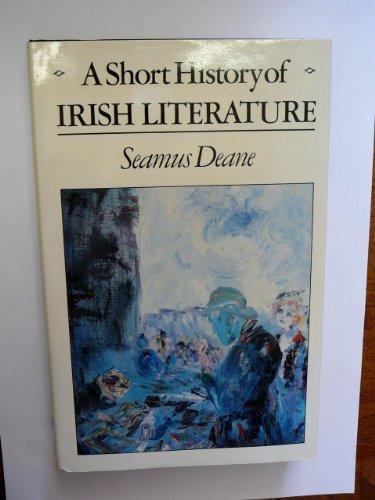9780091613600: A Short History of Irish Literature