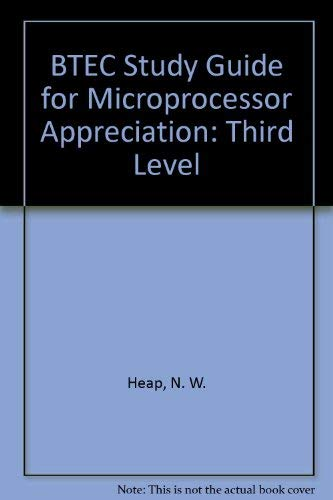 9780091615918: BTEC Study Guide for Microprocessor Appreciation: Third Level