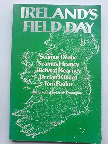 9780091626419: Ireland's Field Day (Field Day Theatre Company)