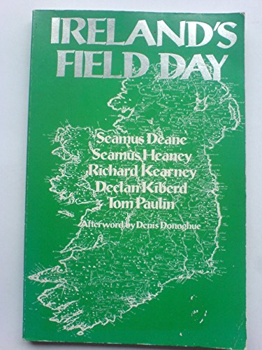 9780091626419: Ireland's Field Day (Field Day Theatre Company)