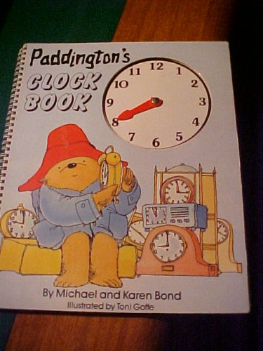 9780091653002: Paddington's Clock Book (A Paddington Bear activity book)