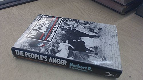 9780091655808: The People's Anger: Justice and Revenge in Post-Liberation France