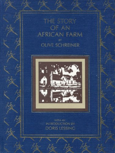 THE STORY OF AN AFRICAN FARM.: Iron, Ralph. (Olive