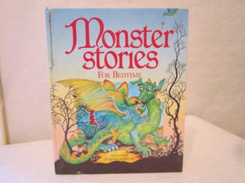 9780091719401: monster stories for bedtime