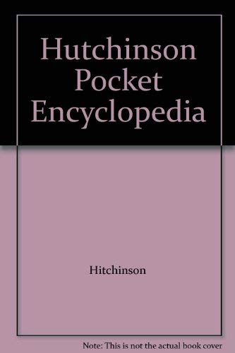 9780091723002: Hutchinson Pocket Encyclopedia