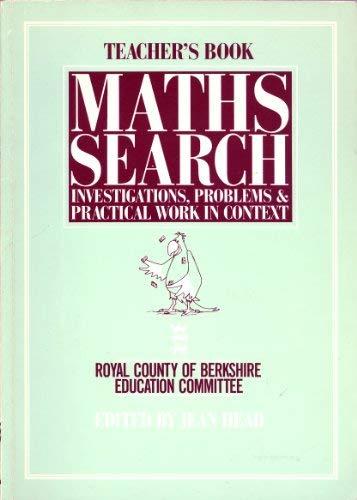 9780091729141: Mathematics Search: Tchrs'