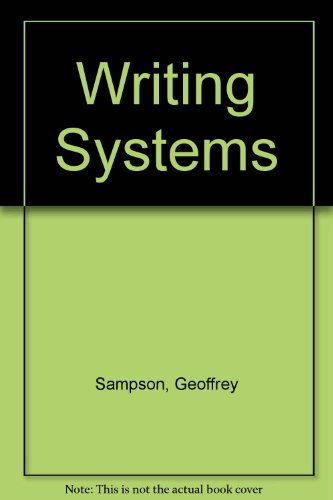 9780091730512: Writing Systems
