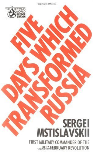 9780091730949: Five Days Which Transformed Russia (Second World)