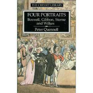 9780091731496: Four Portraits: Boswell, Gibbon, Sterne, and Wilkes (Cresset Library)