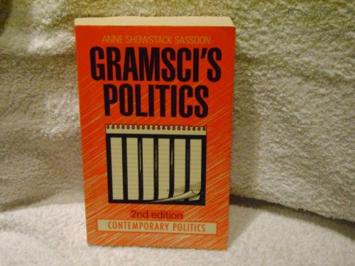 9780091731687: Gramsci's Politics (Contemporary Politics)