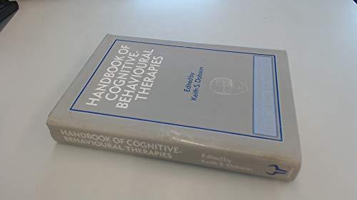 9780091731953: Handbook of Cognitive-behavioral Therapies