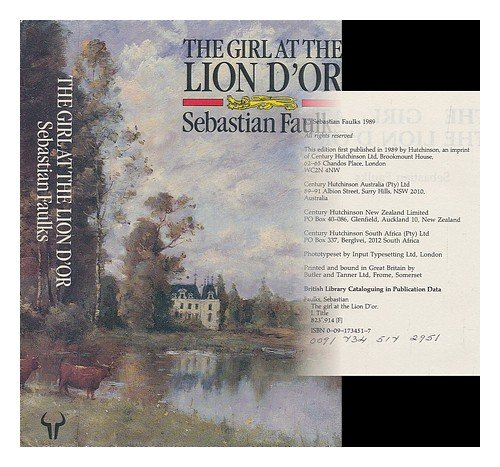 9780091734510: The Girl at the Lion d'Or