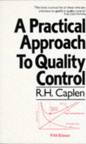 9780091735814: A Practical Approach to Quality Control