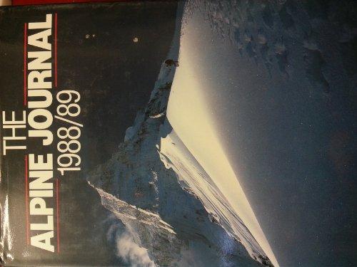 9780091736590: The Alpine Journal, 1988/89