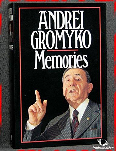 9780091738082: Andrei Gromyko. Memories