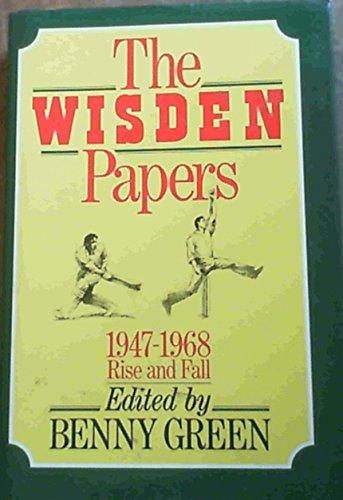 9780091739515: The Wisden Papers 1947-68