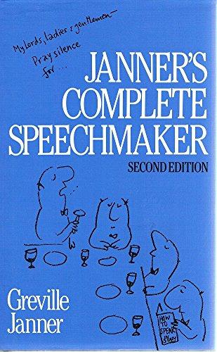 9780091739737: Janner's Complete Speechmaker