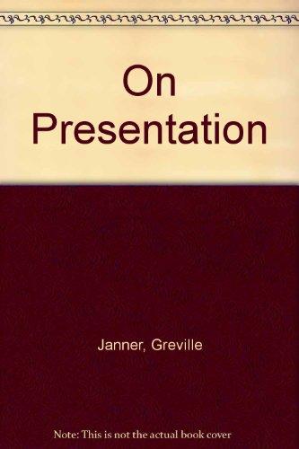9780091740450: On Presentation
