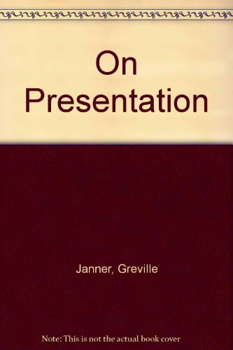 On Presentation (0091740452) by Janner, Greville