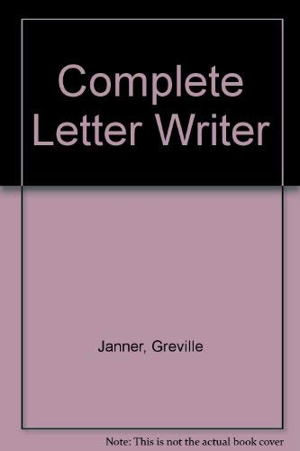 9780091740689: Complete Letter Writer